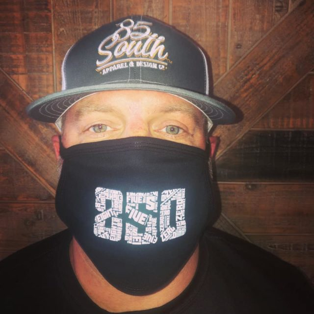 850 Printed graphic face mask